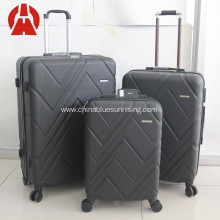 Wholesale ABS PC travel set customized trolley luggage